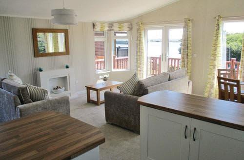 Last Minute Cottages - Wonderful Haverigg Lodge S107452