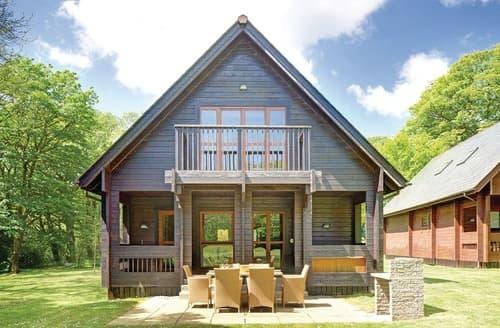 Last Minute Cottages - Woodland Lodge