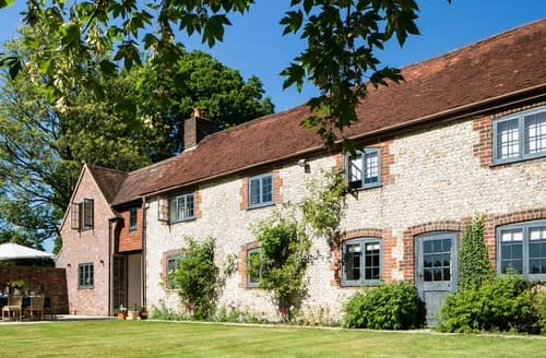 Last Minute Cottages - Brockwood Farmhouse