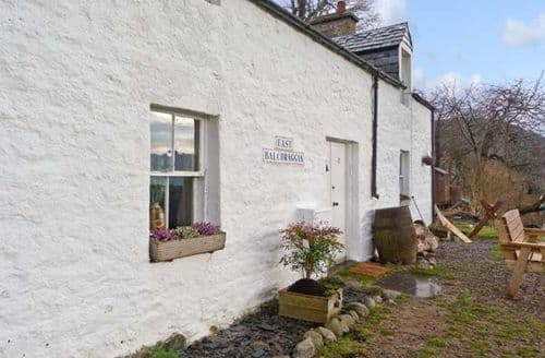Big Cottages - Luxury Inverness Cottage S5537