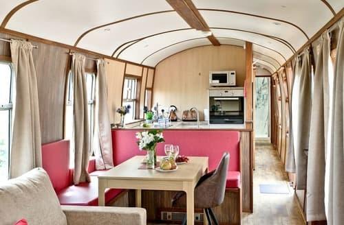 Big Cottages - Brunel Boutique Railway Carriage 3
