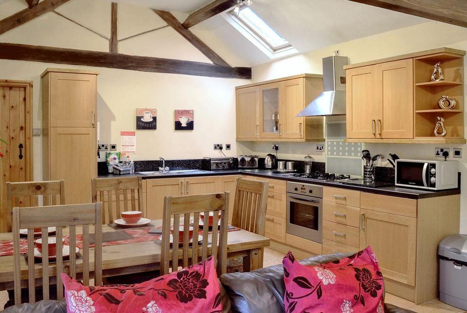 The Beeches Spacious open plan style living/ dining room/ kitchen | The Beeches - Woodhead Hall Farm, Cheadle