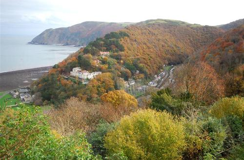 Snaptrip - Last minute cottages - Tasteful Lynton Rental S9824 - View from Summerhouse