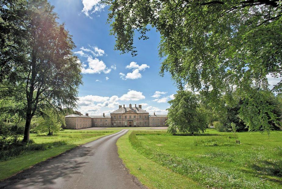 The West Wing Magnificent driveway up to Capheaton Hall | The West Wing, Capheaton