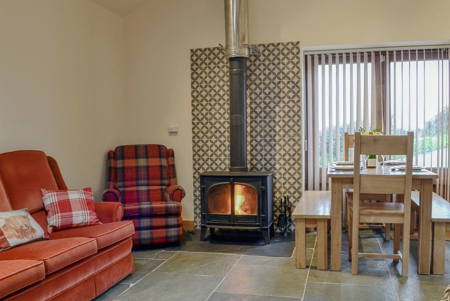 The Old Dairy Charming open plan living space | The Old Dairy - Bentre, Llangovan, near Monmouth