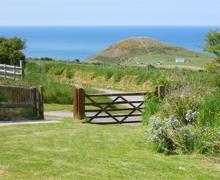 Snaptrip - Last minute cottages - Splendid Mwnt Cottage S71867 - 180-0-Front Garden