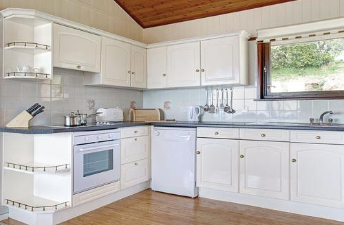 Snaptrip - Last minute cottages - Beautiful Laugharne Lodge S71910 - Typical Silver Lodge 2
