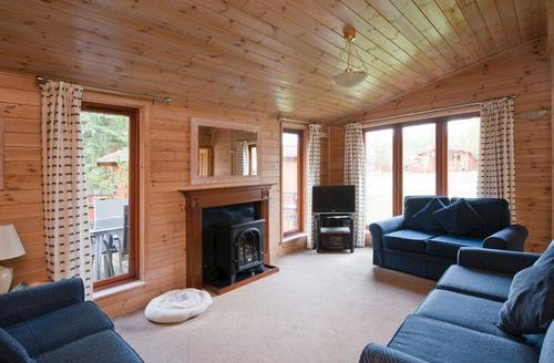 Snaptrip - Last minute cottages - Superb Ashbourne Lodge S72688 -