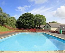 Snaptrip - Last minute cottages - Quaint Woolacombe Cottage S73685 - Outdoor heated pool