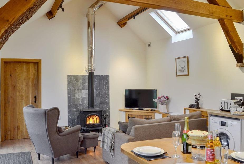 Fuesili Lodge Stunning open plan living space   Fuesili Lodge - Bentre, Llangovan, near Monmouth