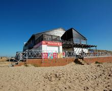 Snaptrip - Last minute cottages - Exquisite Camber Rental S10586 - RH1112 Marina Cafe Exterior