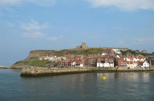 Snaptrip - Last minute cottages - Superb Whitby Rental S10971 - View from Lord Nelson Cottage