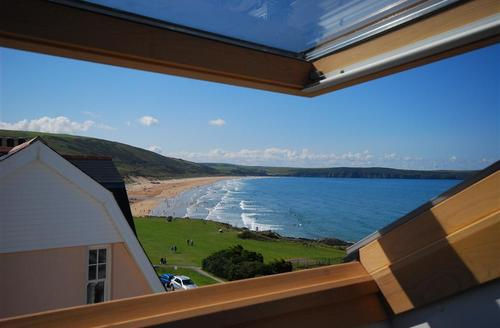 Snaptrip - Last minute cottages - Attractive Woolacombe Rental S12146 - View from Apartment
