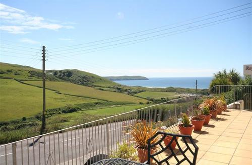 Snaptrip - Last minute cottages - Wonderful Woolacombe Rental S12233 - View from Sun Terrace