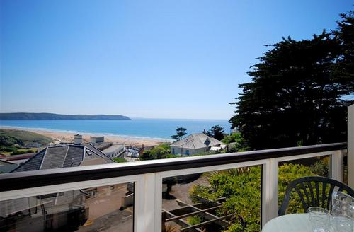 Snaptrip - Last minute cottages - Charming Woolacombe Rental S12360 - View from Balcony