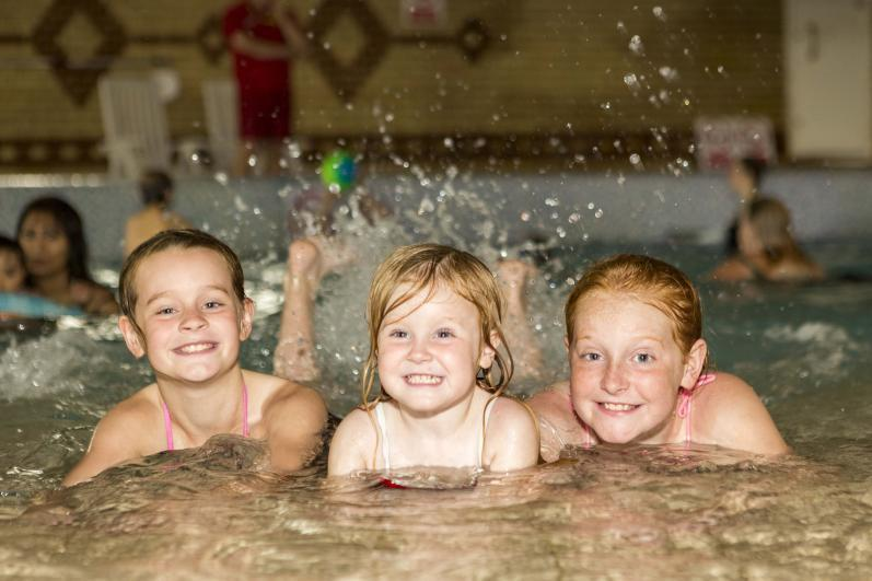 Coghurst Hall Holiday Park Indoor Swimming Pool