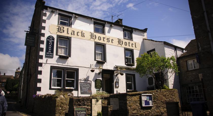 The Black Horse Hotel The Black Horse Hotel Bar & Restaurant, a character 17th century coaching inn in Grassington.
