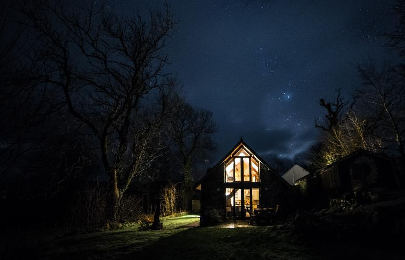 Nant Yr Onnen B&B And Holiday Cottage Starry nights