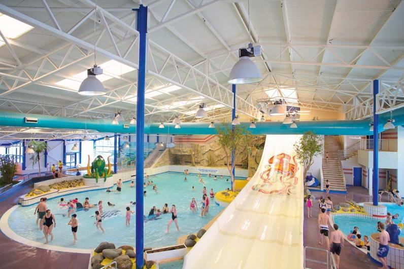 Haven Holidays Hafan Y Mor Holiday Park Indoor pool