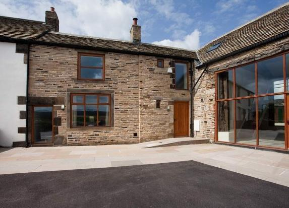 One of three luxury cottages at Gilcar Farm near Huddersfield.  - The Blacksmiths Shop