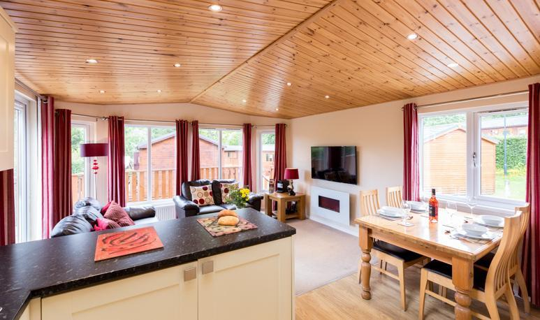 Striding Edge Luxury Lodge Lounge