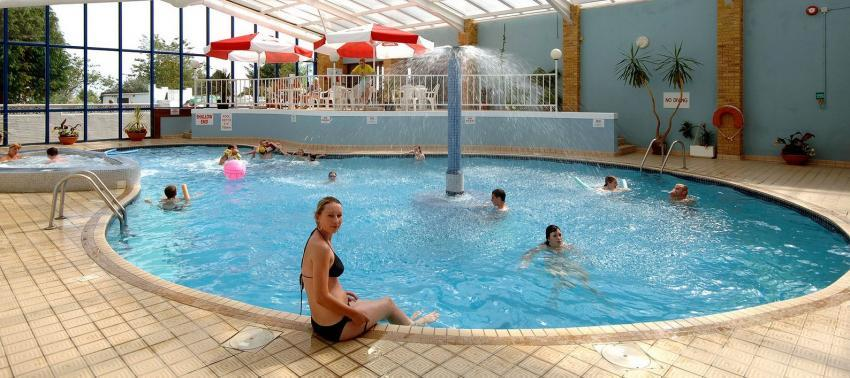Seaview Holiday Village Indoor swimming pool.