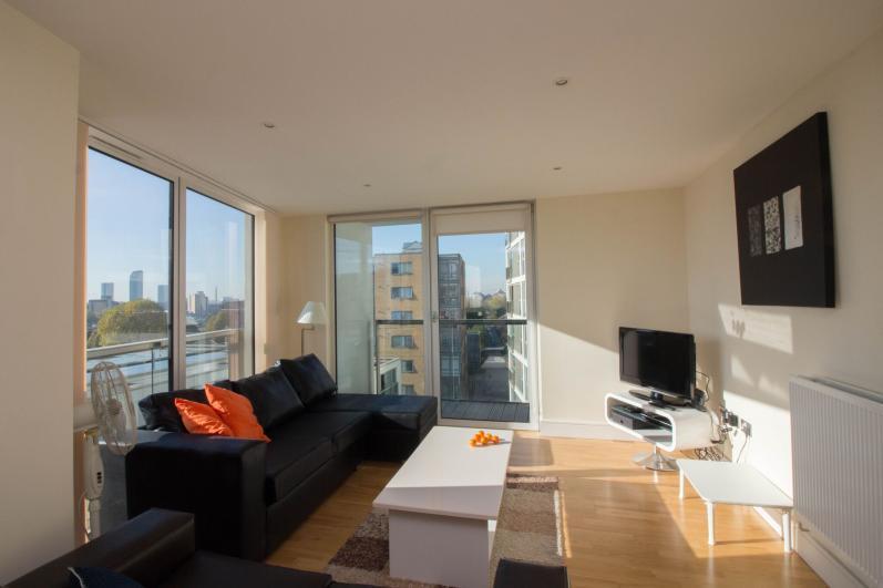Apartment 1 living area.  - South Quay Apartments