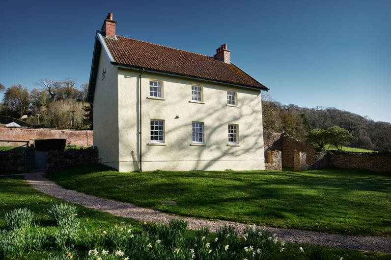 Penrice Castle Cottages Garden House sleeps 8 set in the parkland only half a mile to Oxwich Beach
