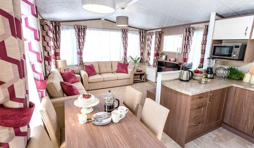 Bovisand Lodge Holiday Park 2 Bedroom Caravan Holiday Homes.