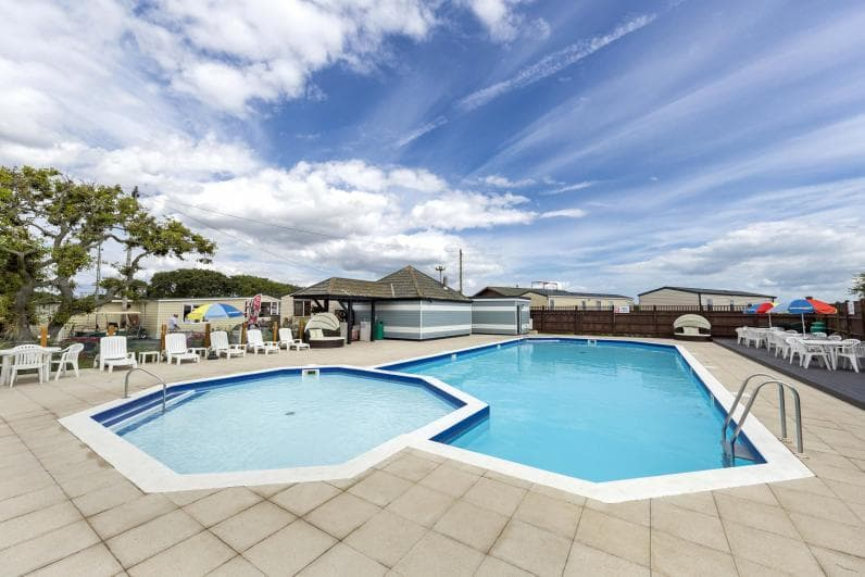 Outdoor Pool - Solent Breezes Holiday Park