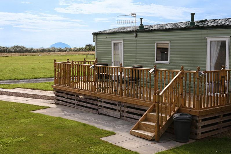 One of our many great holiday cabins - Turnberry Holiday Park