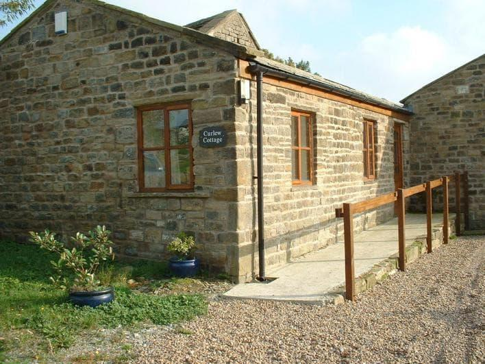 Curlew Cottage The cottage has parking outside the house.  The cottage overlooks the horse livery yard
