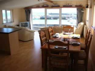 Harbour View Self Catering Luxury three bedroom apartment overlooking Port St Mary harbour.