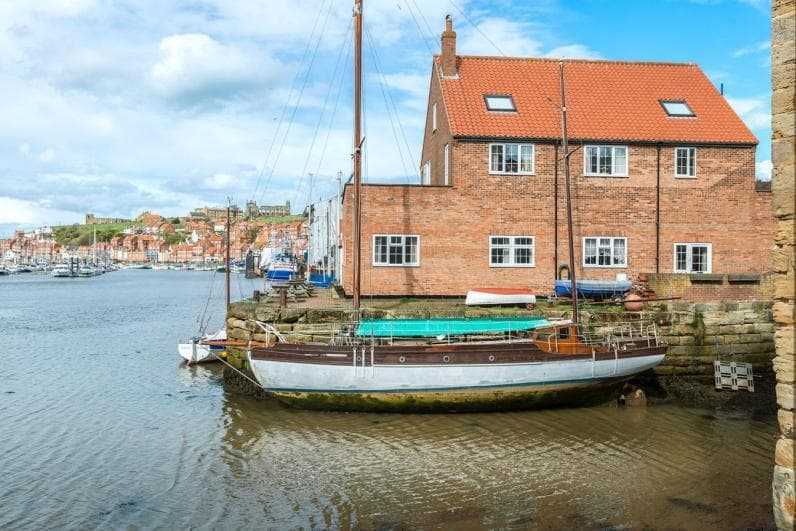 View from Whitby Sail Loft Apartment - Whitby Sail Loft