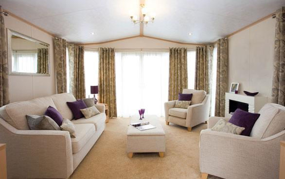 Haven Doniford Bay Holiday Park Platinum caravan