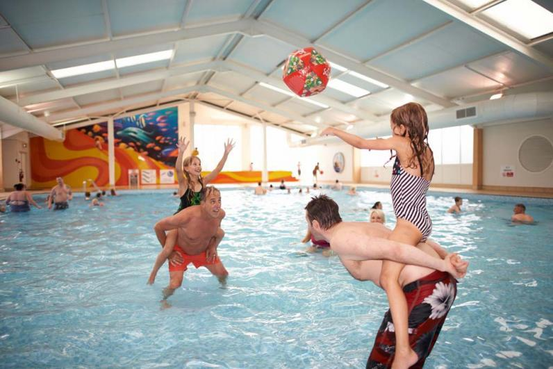 Haven Holidays Blue Dolphin Holiday Park Indoor pool