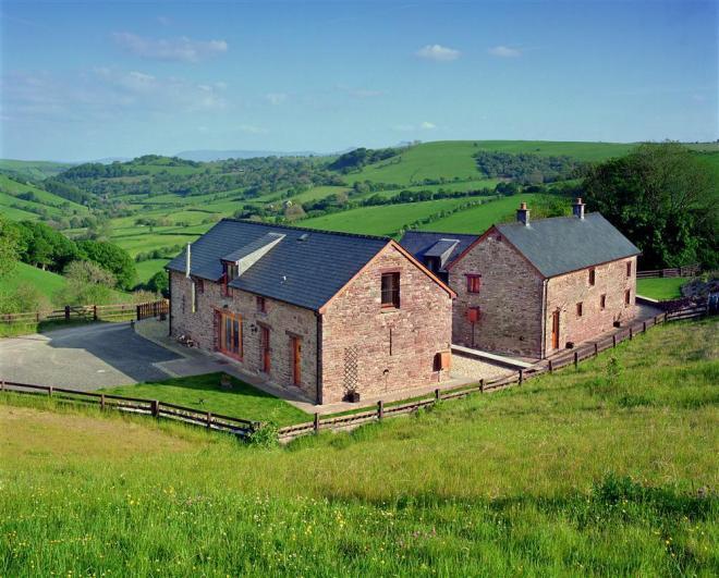 Pentwyn Farmhouse Pentwyn Barn