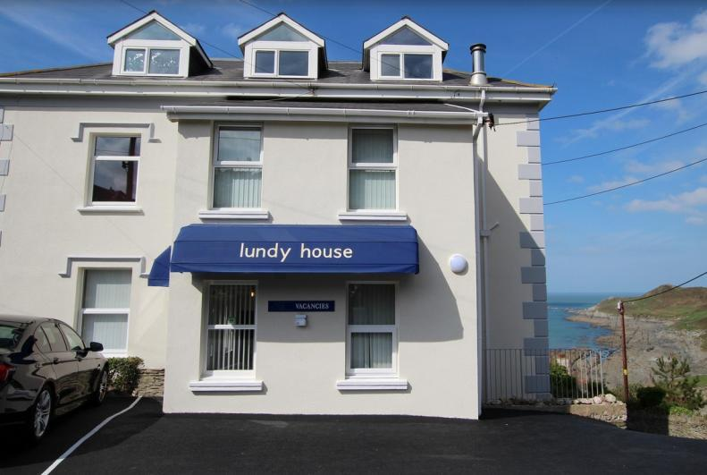 Lundy House Hotel - exterior view. A family run small hotel between Mortehoe & Woolacombe.  - Lundy House Hotel