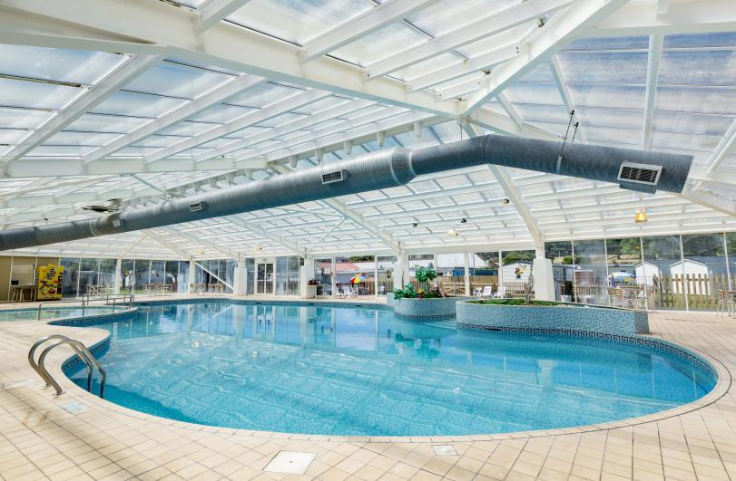 Dawlish Sands Holiday Park Indoor Swimming Pool