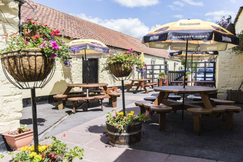 The Swan Thornbury A great award winning garden awarded the gold award for its garden a delight to sit in the summer.