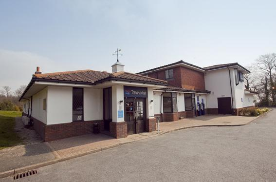 Exterior - Travelodge Hastings budget hotel