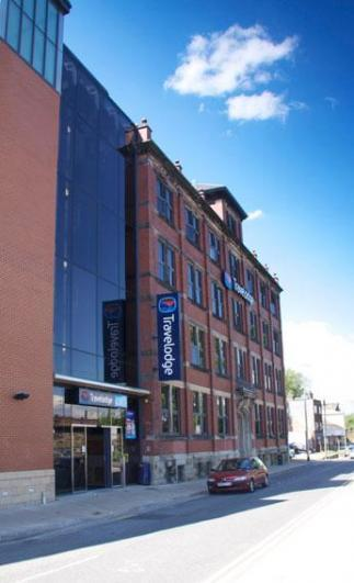 Exterior view - Travelodge Central Macclesfield Hotel