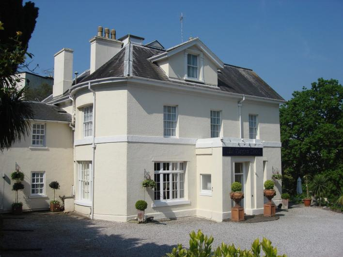 Haytor Hotel The Haytor Hotel is a Victorian villa set in its own private gardens, a short walk from Torquay