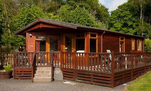 Langdale Lodge Three Bed Luxury Lodge at White Cross Bay on the shores of Lake Windermere.
