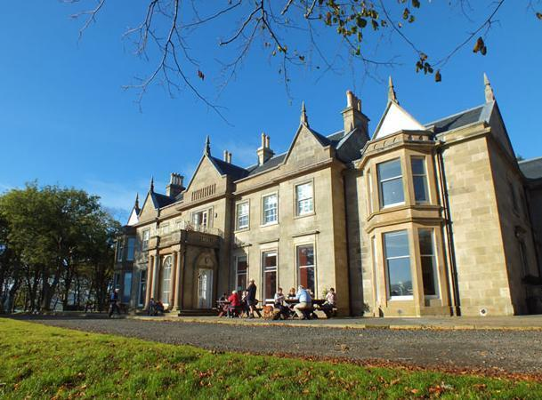 Exterior view.  - Raasay House
