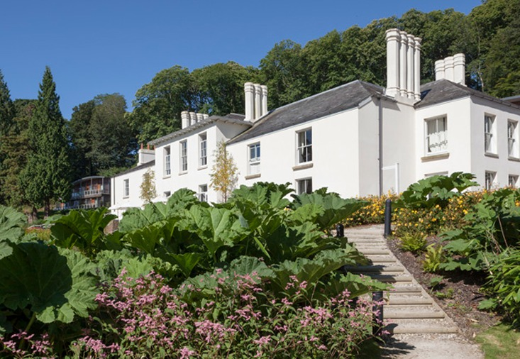 The Cornwall Hotel Spa & Estate Striking St Austell hotel set in 43 acres of park and woodland