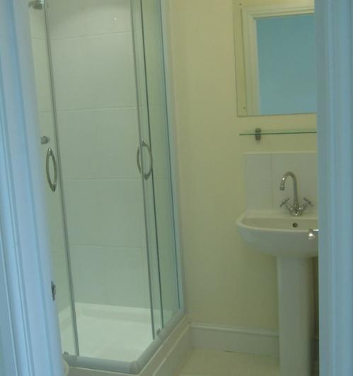 Hillview Bed and Breakfast Apple Room - shower.