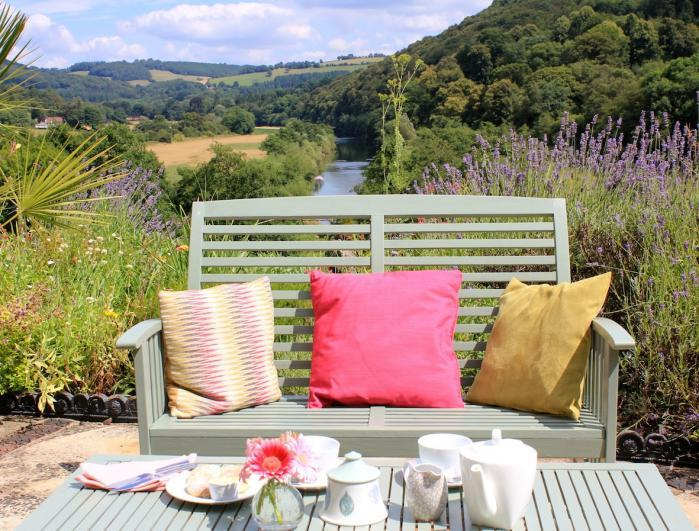 Relax on Ty Bryn's terrace and soak up the stunning view - Ty Bryn B&B