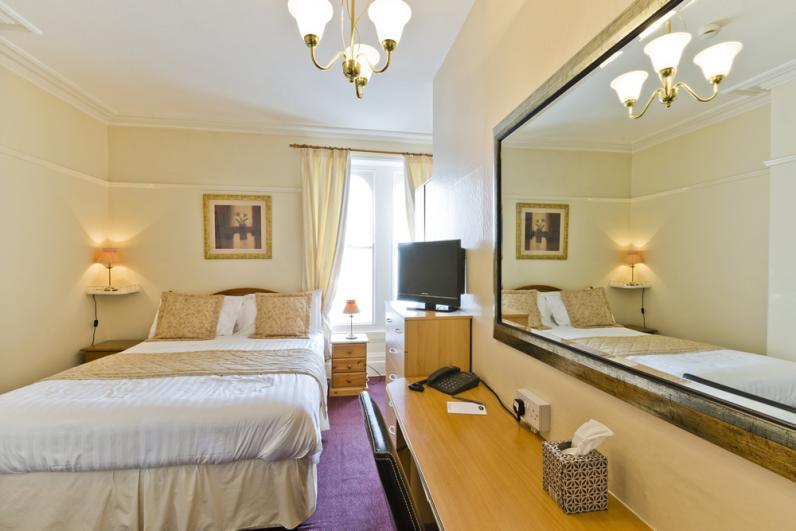 Shelbourne Hotel Double guest room