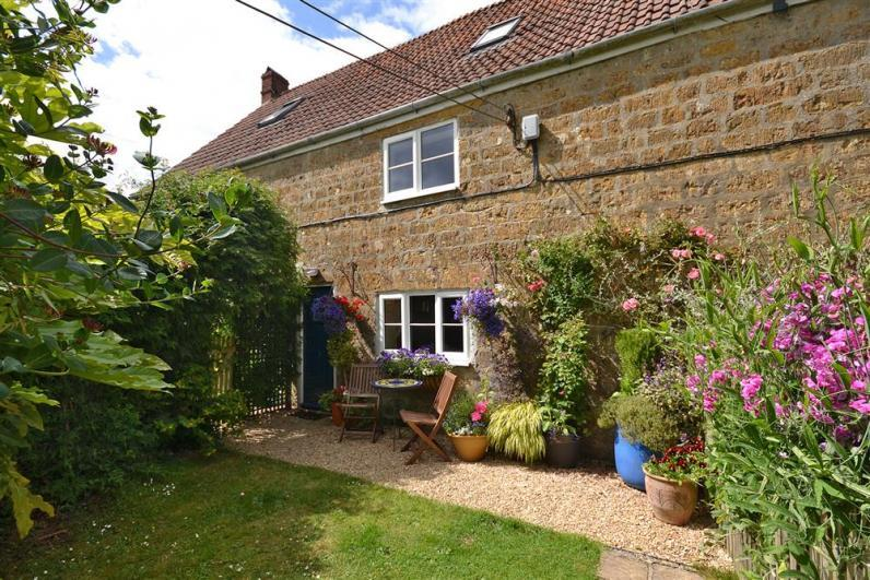 Perhay Cottage Perhay External Front - An attractive former farmworkers cottage with enclosed garden